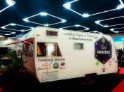 the only trailer on the OSCON exhibitor floor 2015